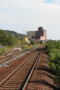 CWK Bad Köstritz an der Bahnstrecke Gera-Leipzig